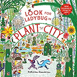 Look for Ladybug in Plant City Book