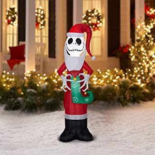 Holiday Time Jack Skellington Nightmare Before Christmas Inflatable, 5.5 ft.