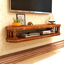 Floating Shelf Wall-Mounted Tv Cabinet Bedroom Living Room Wall Shelf Set Top Box DVD Player Projector Router Shelf Tv Con...