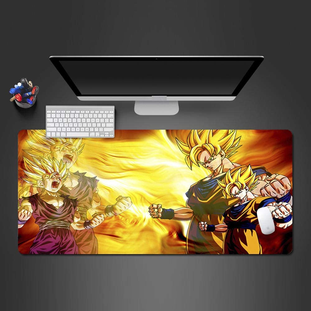 Max 77% OFF YVQLXJ Large Gaming Mouse Pad XL Animated backgrou on boy yellow Free Shipping New