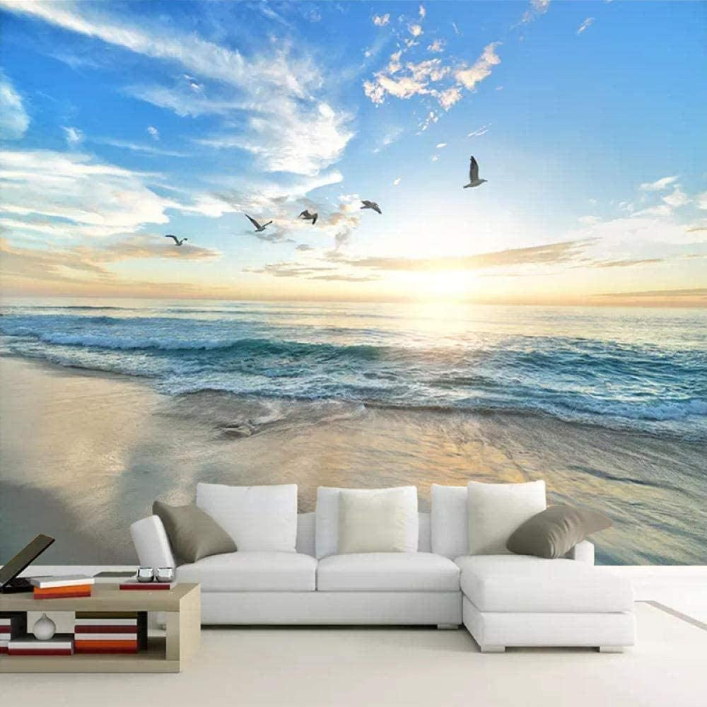 Personality Home Decor Max 50% OFF Wallpaper Background 3D Photo Department store B