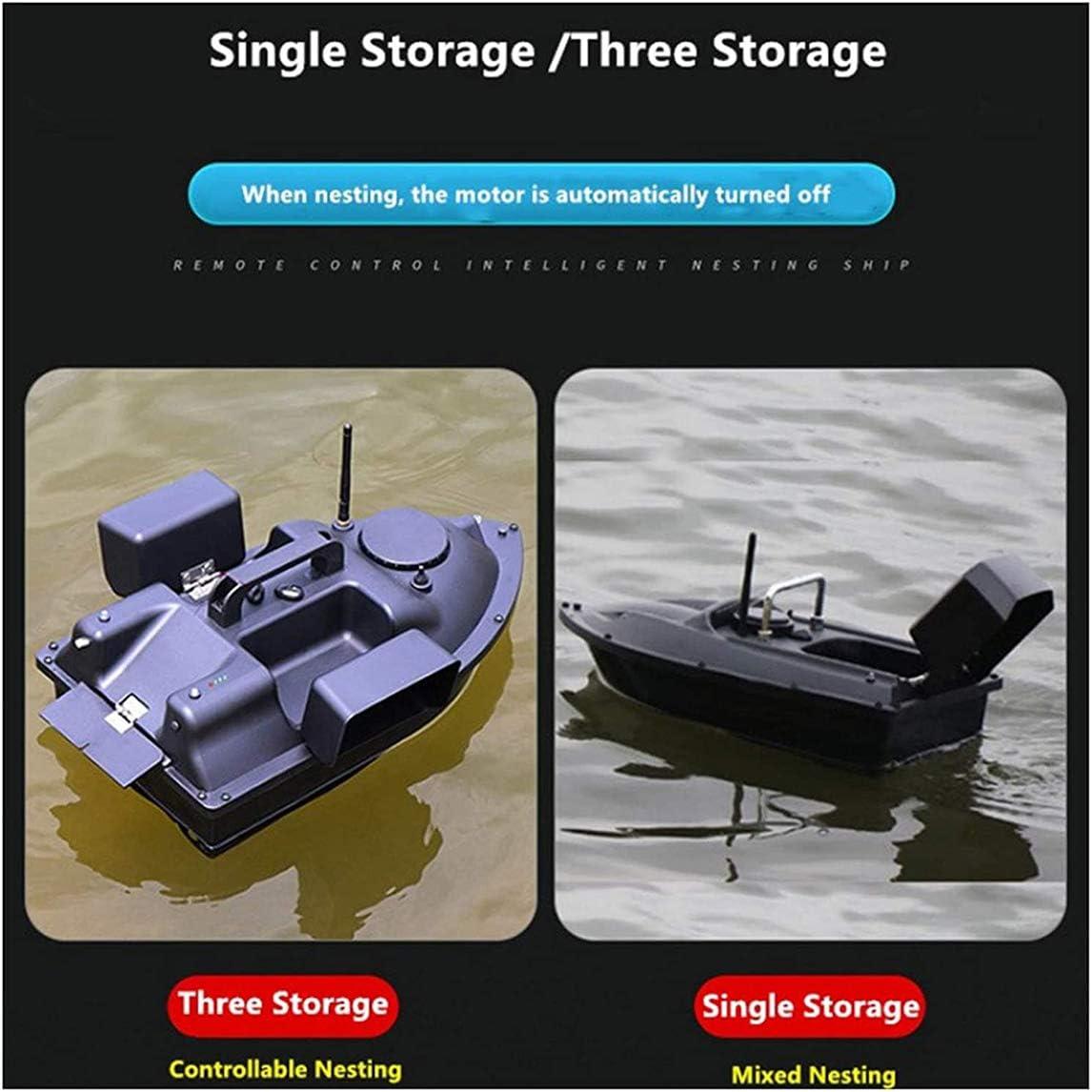 Wasserdicht F/ür Angelhilfswerkzeug,Gps,5200mAh 500M GPS Futterboot Tempomat Und Led Fischerboot Nest Fernbedienung Fischerboot Boot Ferngesteuertes Karpfen Doppelmotoren Fernbedienung Boot