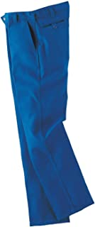 Workrite 400NX75RB36-32 Flame Resistant 7.5 oz Nomex IIIA Industrial Pant, 36 Waist Size, 32 Inseam, Royal Blue