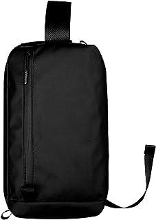 Crossbody Bag Men's Anti-Theft Black Chest Bag Fashion Shoulder Bag Waterproof Work Bag Leisure Sports Bag Outdoor Small Backpack