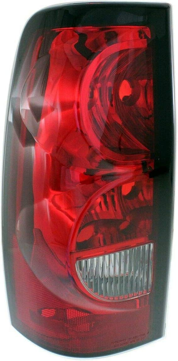 Tail Light Cheap super special price Lamp Boston Mall Left Hand Side Compatible with Stylesi Driver LH