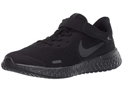Nike Kids SINGLE SHOE FlyEase Revolution 5 (Big Kid) (Black/Black/Anthracite) Kid