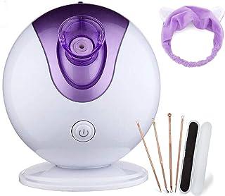 HSD Nano iónico Vaporizador facial Sauna Home SPA niebla caliente hidratante poros limpieza clara humidificador de cuidado de la piel