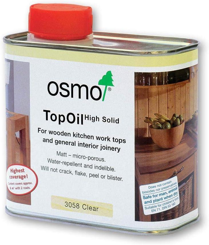 Osmo – 0,5 L Aceite, transparente mate, 3058: Amazon.es ...