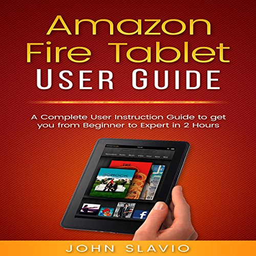Amazon Fire Tablet User Guide cover art