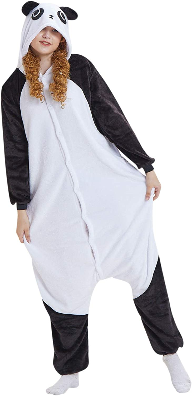 GLVSZ Womens Challenge the lowest price of Japan ☆ Plush One 35% OFF Piece Slee Pajamas Costume Animal Cosplay