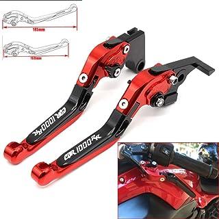 CBR1000RR//Fireblade 04/ nero /16 /07 JFG RACING CNC corto regolabile leve freno frizione per Honda CB1000R 08/