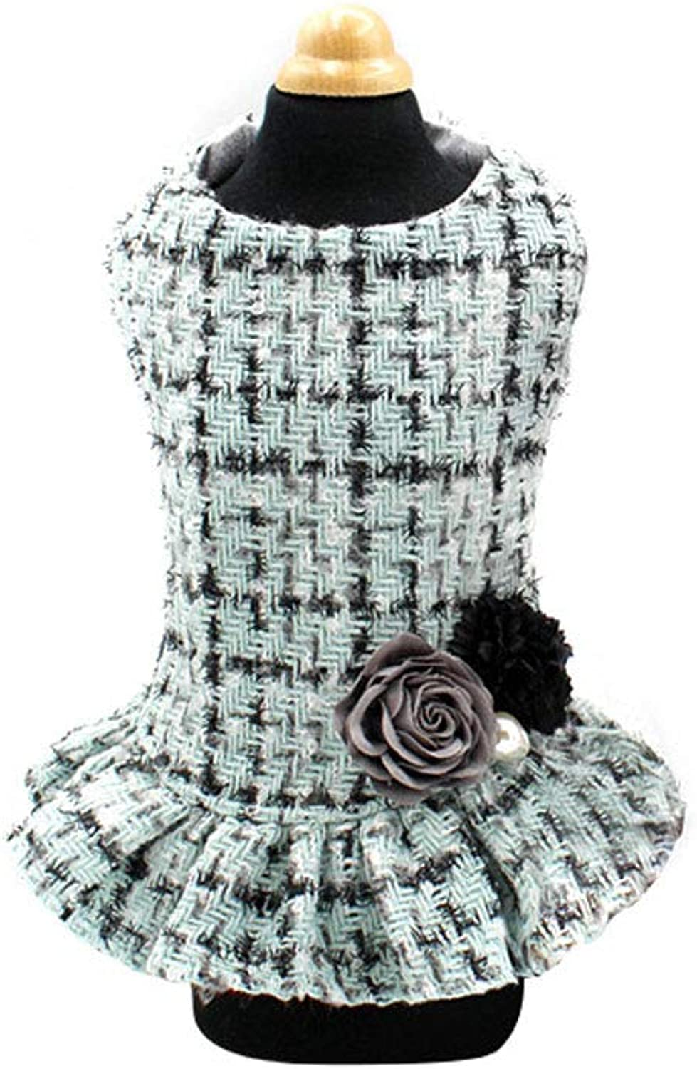 Exquisite Quality pet Wool Lady Dress Dog Clothes