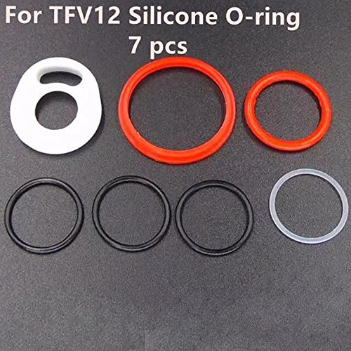 5 Sets TFV12 Oring Silicone Seals Gasket Cloud Beast O Rings Rubber Bands (5 Sets TFV12 Oring)