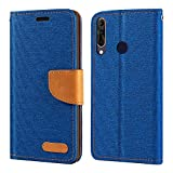 Wiko View 3 Pro Case, Oxford Leather Wallet Case with Soft