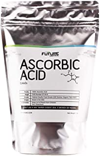Ascorbic Acid (Vitamin C) 5 lbs. Immune Support & Antioxidant Supplement. No Fillers. Organic. No GMO