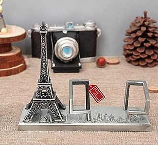 Onlineshoppee Eiffel Tower Business Card Holder (Silver)