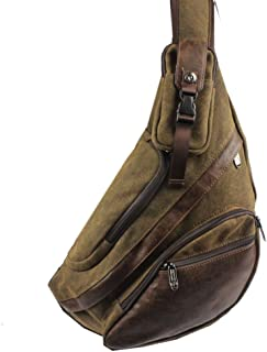 Sling Bag Cross Body Backpack for Men Women Crossbody Shoulder Chest Casual Daypack Large