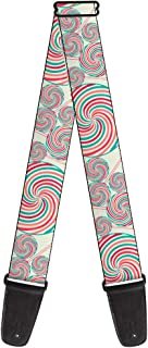Buckle-Down 2 Inches Wide Guitar Strap - Lollipops (GS-W31239)