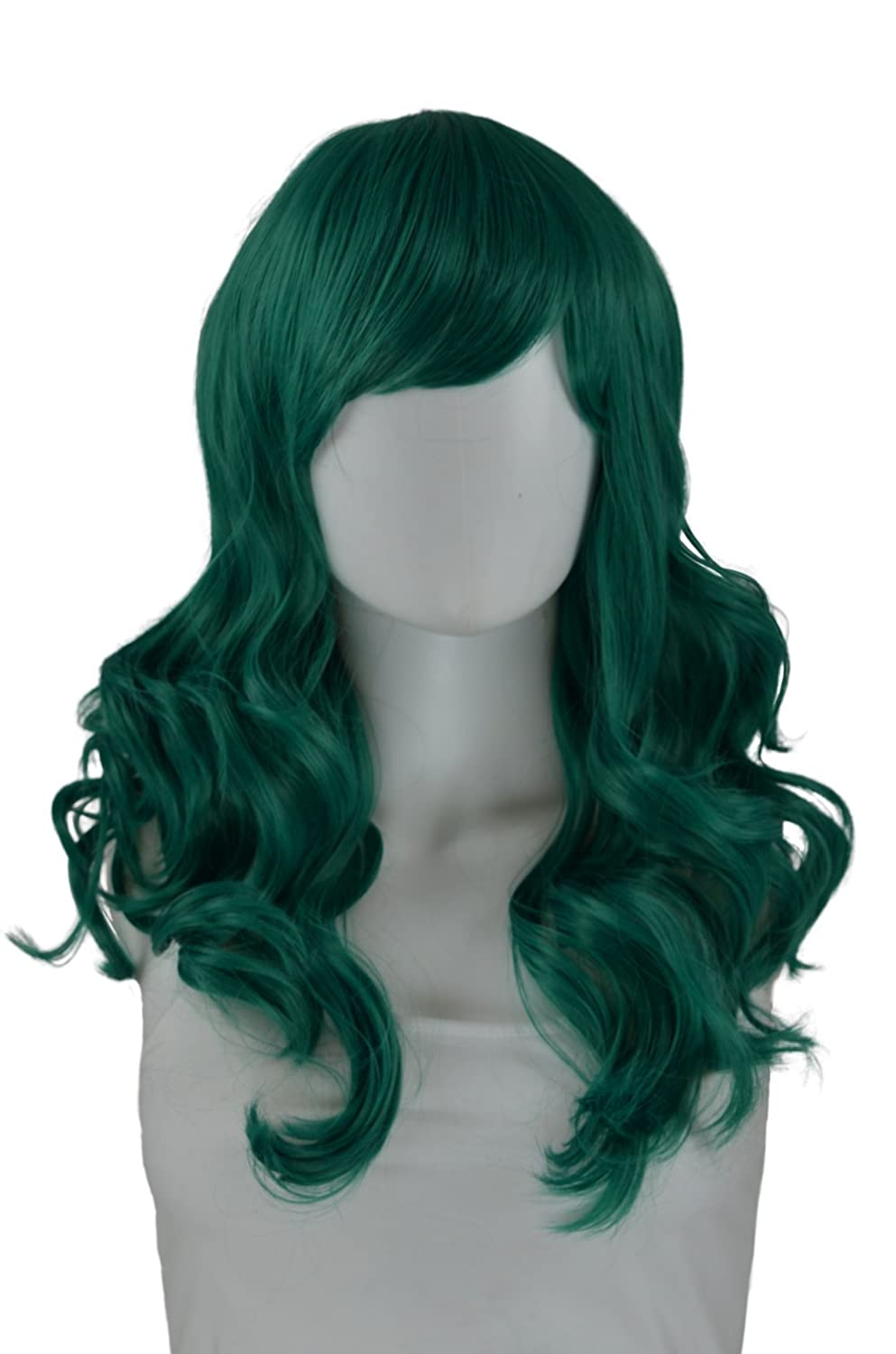 Epic Cosplay Hestia Regular store Reservation Emerald Green Inches Wig 08EMG Curly 22
