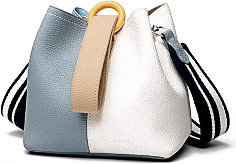 Hulday Daypacks Erwachsene Vintage Backpack Stylisch Beuteltasche Damen Leder Handtasche Eimer Einfacher Stil Tasche Mode Brieftasche Umhngetasche Schultertasche (Farbe   Colour, Größe   One Größe)