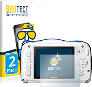 Film Protector de Pantalla LCD Transparente 3x Nikon Coolpix S5200 S5300 S6500 S6800 S7000