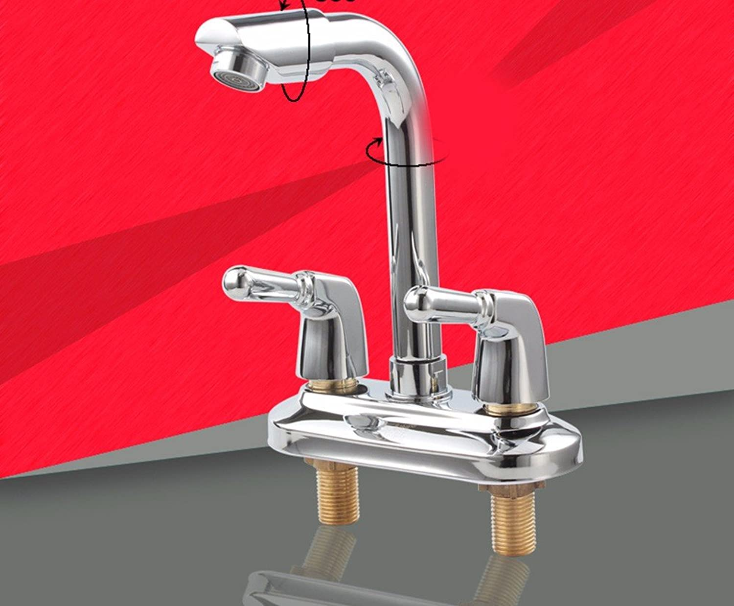 AWXJX copper hot and cold washing the face sink tap
