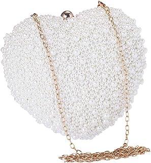 Clutch Bag, Brand New Ladies Clutch Bag Evening Party/Bridal Wedding/Hand Bag,White