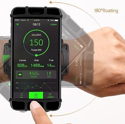 Gym fitness sports Support de téléphone pour brassard téléphone portable Huawei jusquà 5,7 sac de brassard de sport pour iPhone 7/6 / 6s / 5 / SE / iPod HTC MP3 Samsung Galaxy S5 / S4 / S3 LG