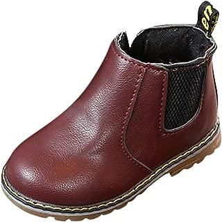 QinMM Kinder Baby Freizeitschuhe 21-30 Kinder Warme Jungen M/ädchen Sneaker Stiefel