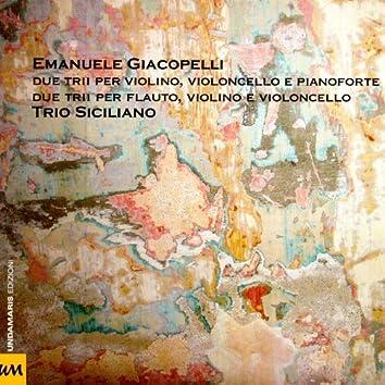 Due Trii Per Violino, Violoncello, Pianoforte E Flauto