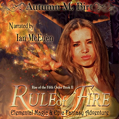 Rule of Fire audiobook cover art