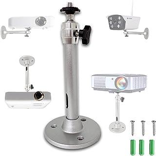 otutun Support de Plafond pour Projecteur, Capacité de Charge de 5 kg, Rotation à 360°, Support Mural Universel en Alumini...