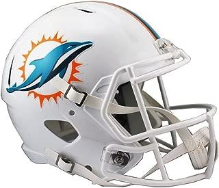 Riddell NFL Miami Dolphins Full Size Replica Speed Helmet, Medium, Green