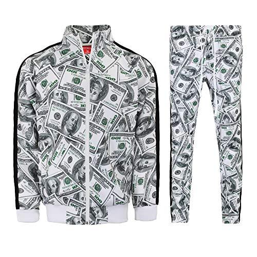 OppoSuits Men's Cashanova Party Costume Suit, Multi, 40