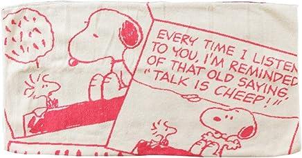 スヌーピー のびのびタオルピローケース (枕カバー/まくらカバー/寝具) AG ピンク コミック
