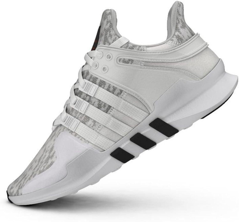Adidas Men's EQT Support ADV, Clonix Footwear White CORE Black, 10 M US
