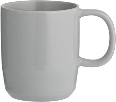 Typhoon 1401.834 Cafe Concept 12 Oz Mug Grey 350ml, Stoneware