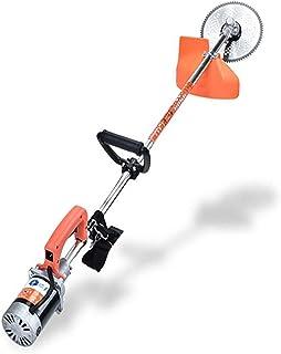 Cortacésped eléctrico de 800 W, cortadora de césped agrícola pequeña, cortadora de césped de protección ambiental de bajo ruido, ligera y portátil, adecuada para césped de jardín B,24V
