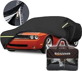 Challenger Car Cover Waterproof All Weather Custom Fit 2008-2020 Dodge Challenger SXT,GT,RT,R/T SCAT PACK,R/T SCAT PACK,SR...