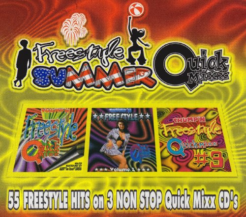Freestyle Summer Quick Mixx [3 CD Box Set]