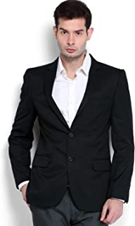 Vastraa Fusion Men's Matti-Cotton Ragular Fit Blazer/Jacket and 09 Size Options (up to 50 inches / 5XL)