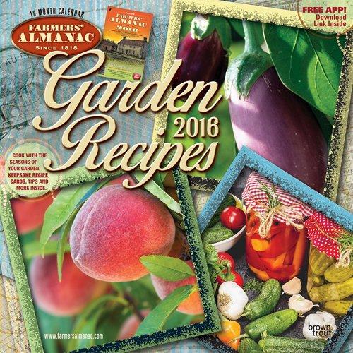 Farmers' Almanac Garden Recipes 2016 Calendar