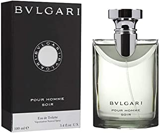 Pour Homme Soir by Bvlgari for Men Eau de Toilette 100ml