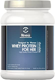 Puritan's Pride Fitness Whey Protein for Her Chocolate-1 lb Powder