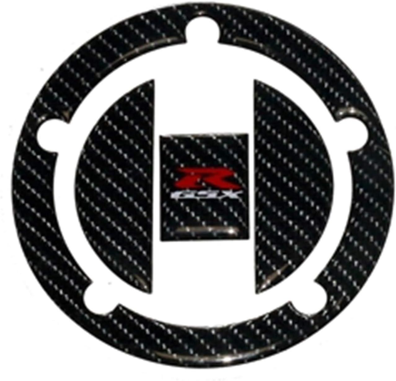 DAFEICHUAN Etiqueta de Tapa de Tanque de Carbono Etiqueta de Tanques Tenedor Tenedor Triple árbol Superior de la Abrazadera Apoyo para Suzuki GSXR GSX-R 750 600 1000 K1 K3 K5 K6 K7 K8 K11