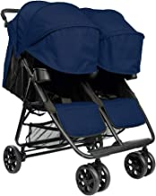 The Twin+ (Zoe XL2) - Best Double Stroller - Everyday Twin Stroller with Umbrella