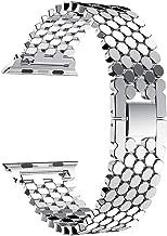 ساعة ابل سيريس 1 - 42 ملم هيكل من الالمنيوم و سوار من الستانلس ستيل لون فضي - MJ2LL/A