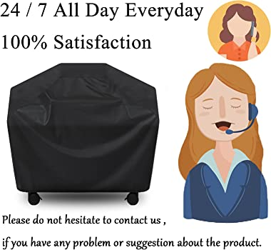 Grill Cover, BBQ Cover 58 inch,Waterproof BBQ Grill Cover,UV Resistant Gas Grill Cover,Durable and Convenient,Rip Resistant,B