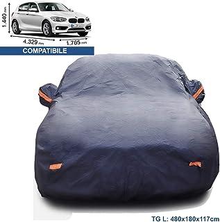 Telo Copriauto Compatible with BMW 8 Series M850i xDRIVE Gran Coupe Impermeabile Copriauto Auto Antipolvere Antivento Copertura Allaperto Copriauto Auto Pieghevole Anti UV Anti Pioggia Sole