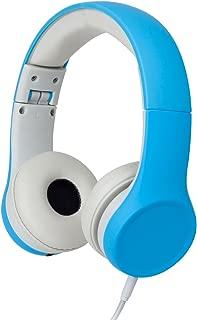 Snug Play+ Kids Headphones Volume Limiting and Audio Sharing Port (Blue)